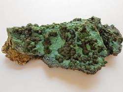 Malachite on Chrysocolla