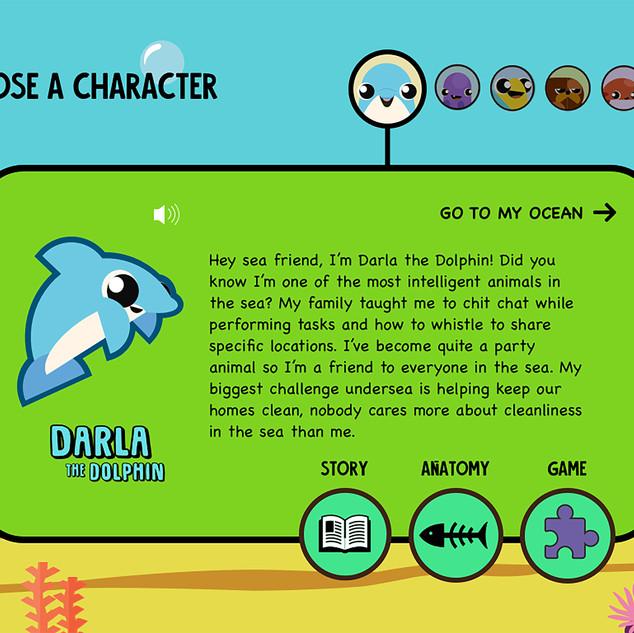 Darla the Dolphin