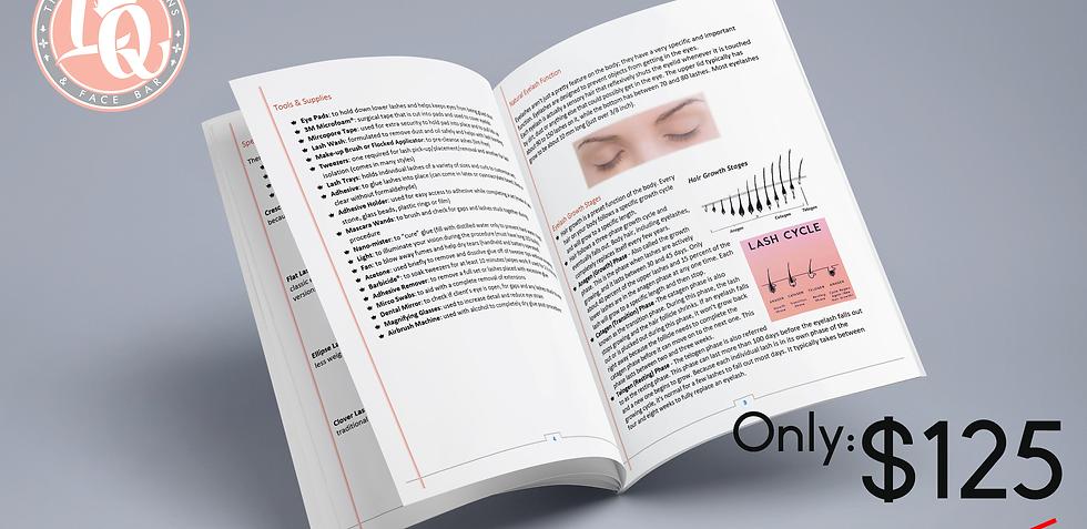 Lash Application Ebook