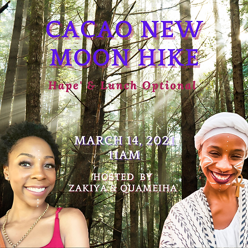 3/14/21 CACAO NEW MOON HIKE