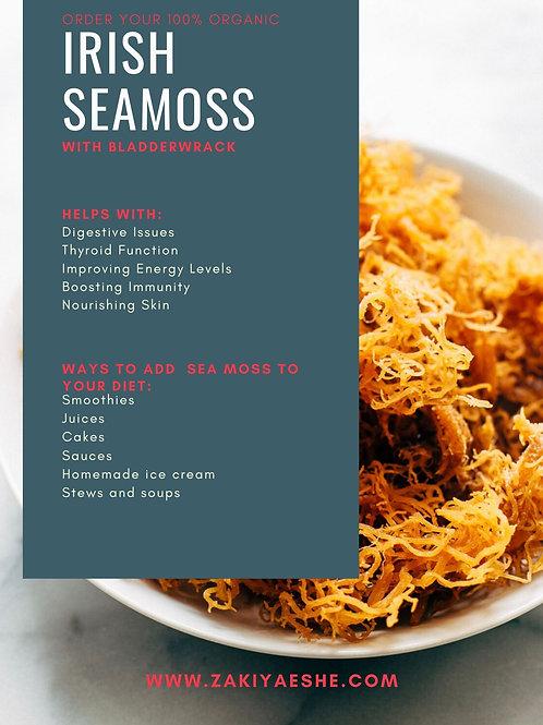 4oz Organic Seamoss & Bladderwrack