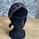 """Thumbnail: Headband, Ceinture et Foulard """"dunes noir"""""""