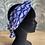 """Thumbnail:  Headband, Ceinture et foulard  """"coquillages bleu"""""""