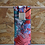 "Thumbnail: Headband, Ceinture ""floral version corail"""