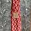 """Thumbnail: Copie de  Headband, Ceinture et foulard  """"coquillages rouge"""""""