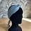 "Thumbnail: Copie de  Headband, Ceinture et foulard  ""bleu nuage """