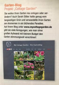 Garten Spaß Magazine | My Cottage Garden Feature