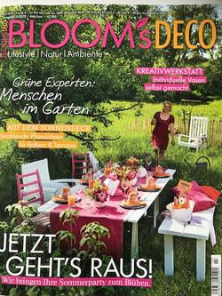 Blooms Deco Magazine | My Cottage Garden Feature