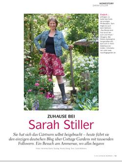 Zuhause Magazine | At Home with Sarah Stiller | My Cottage Garden
