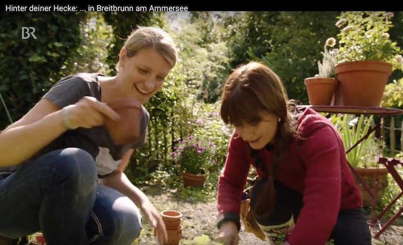 Sabrina Nitsche im Cottage Garten