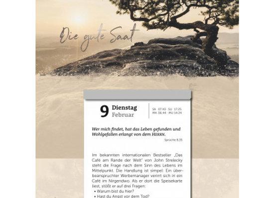 Die gute Saat 2021 (Abreißkalender)