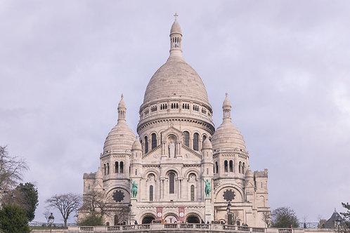 Sacre Coeur | Sacre Coeur in Paris France | Paris Photo Print | Tammy Riegel Photography