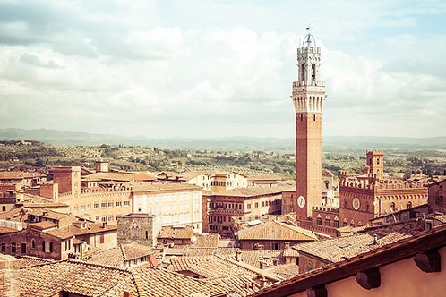 Siena Landscape II | Siena Italy | Tuscany Photo Print | Tammy Riegel Photography