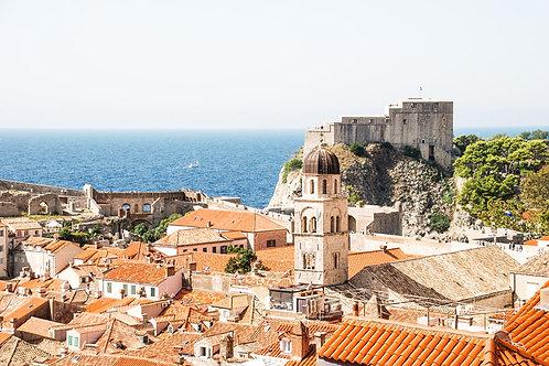 City by the Sea | Dubrovnik Croatia Photo Print | Tammy Riegel Photography