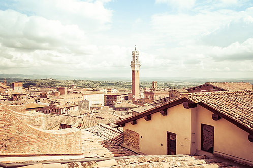 Siena Landscape | Siena Italy | Tuscany Photo Print | Tammy Riegel Photography