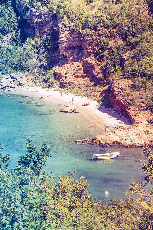 Beach Daze | Beach in Croatia | Beach Photo Print | Tammy Riegel Photography
