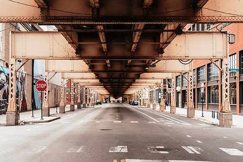 Under the L