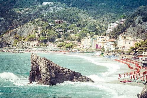 Rock of Monterosso | Monterosso al Mare, Italy | Cinque Terre Photo Print | Tammy Riegel Photography
