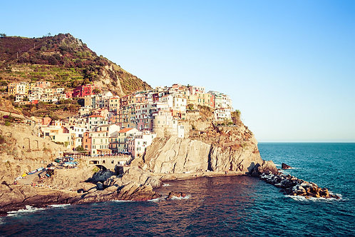 Manarola | Manarola Ital | Cinque Terre Photo Print | Tammy Riegel Photography