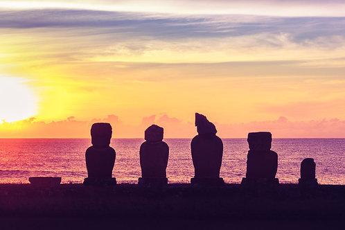 Rapa Nui Sunset