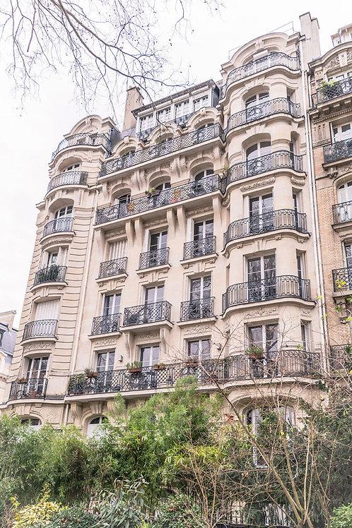 Paris Living | Paris Apartment Building | Paris Photo Print | Tammy Riegel Photography