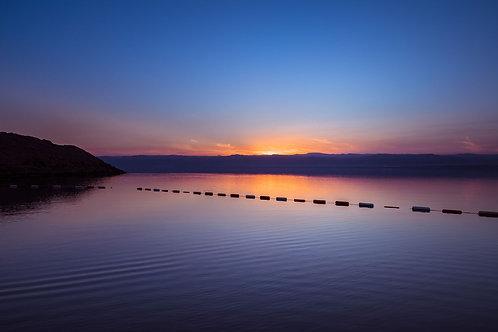 Dead Sea Sunset | Sunset over the Dead Sea in Jordan | Sunset Photos | Tammy Riegel Photography