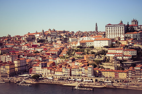Porto Skyline | Porto Skyline in Portugal | Portugal Photo Print | Tammy Riegel Photography