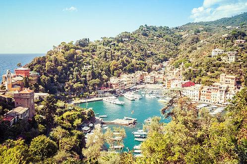 Portofino Skyline | Portofino Italy | Cinque Terre Photo Print | Tammy Riegel Photography