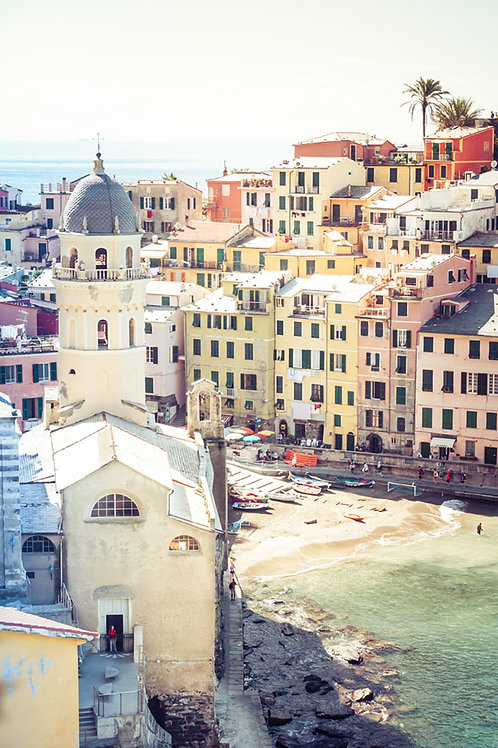 Vernazza | Vernazza Italy | Cinque Terre Photo Print | Tammy Riegel Photography