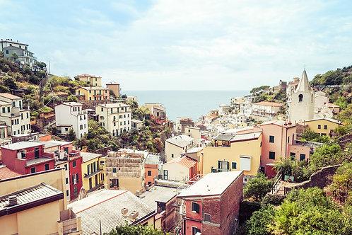 Corniglia | Corniglia Italy | Cinque Terre Photo Print | Tammy Riegel Photography