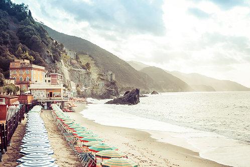 Monterosso Beach | Monterosso al Mare, Italy | Cinque Terre Photo Print | Tammy Riegel Photography