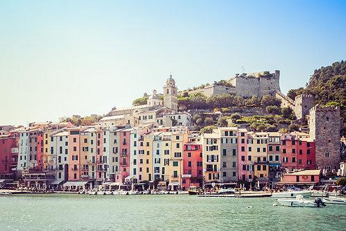 Portovenere | Portovenere Italy | Cinque Terre Photo Print | Tammy Riegel Photography