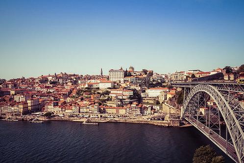 Porto Bridge | Dom Luis I bridge in Porto Portugal | Portugal Photo Print | Tammy Riegel Photography