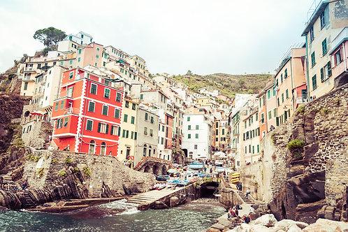 Riomaggiore | Riomaggiore Italy | Cinque Terre Photo Print | Tammy Riegel Photography