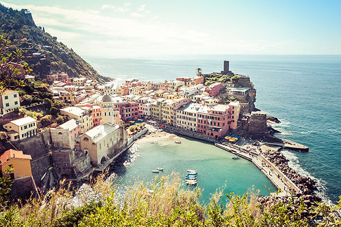 Vernazza II | Vernazza Italy | Cinque Terre Photo Print | Tammy Riegel Photography