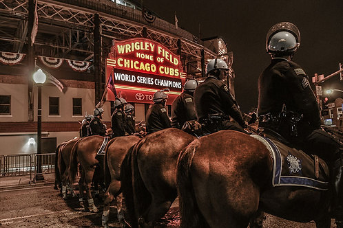 Miracles | Wrigley Field after World Series Win | Chicago Photo Print | Tammy Riegel Photography