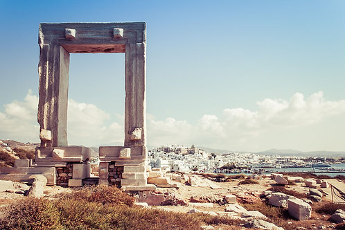 Temple of Apollo | Temple of Apollo in Naxos Greece | Greece Photography | Tammy Riegel Photography