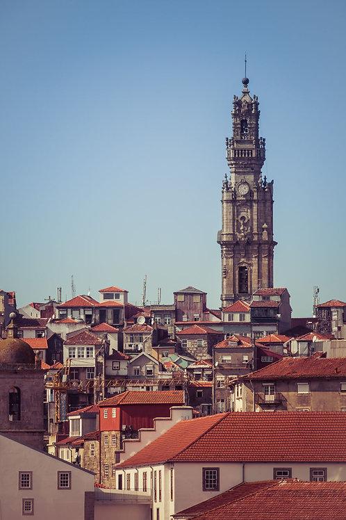 Porto Tower | Clerigos Tower in Porto Portugal | Portugal Photo Print | Tammy Riegel Photography
