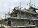 Superstructure completed at Fiddlers Green