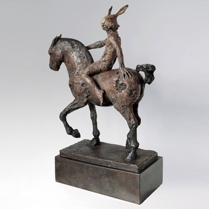 RIDING HARE