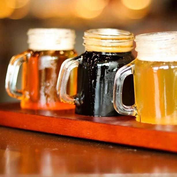 Beer Flights only $10