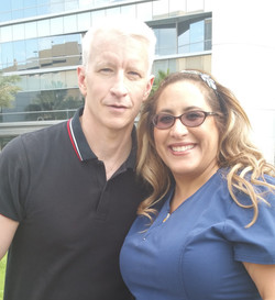 Dominique & Anderson Cooper after Pulse Tragedy