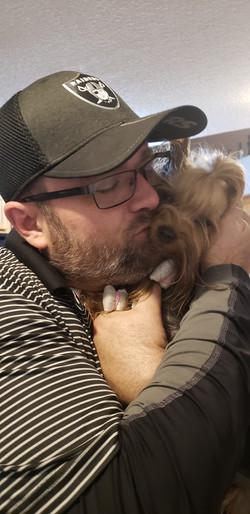 Mike Kissing Hope