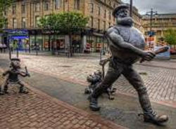 Desperate Dan Statue Dundee