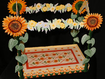 SUNFLOWER CANOPY BED