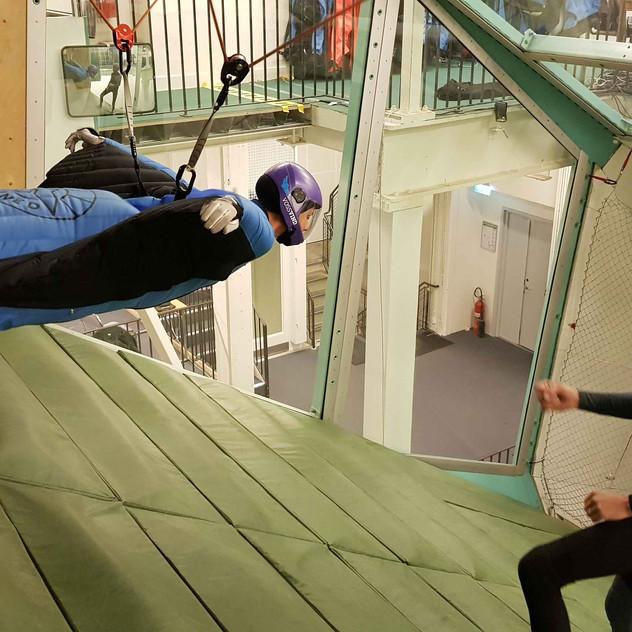Indoor Wingsuit Flying Stockholm