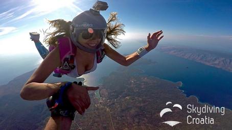 Skydiving Croatia - Hvar Island