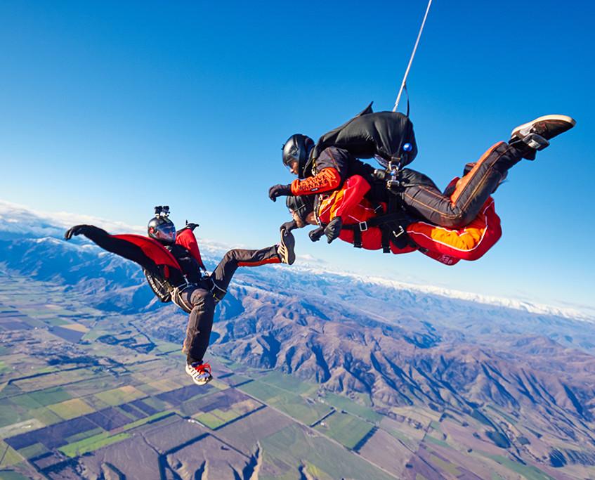 fot. Skydive Wanaka