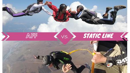 Kurs metodą AFF czy Static Line?