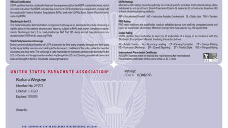 Jak zdobyć licencje USPA?